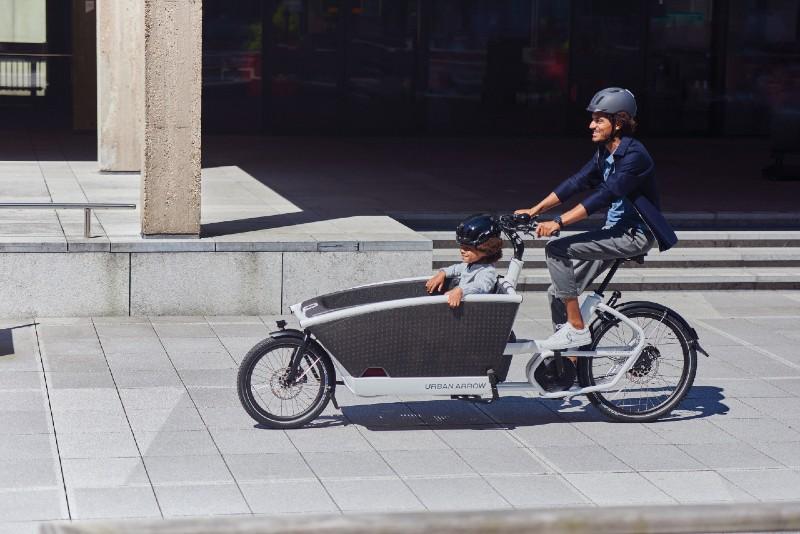 Urban Arrow demo - Bike Company Holland